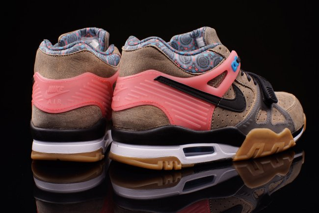 online store 5127f d0651 NIKE AIR TRAINER 3 PRM QS SUPER BOWL VACHETTA TAN 709989 201 MENS SIZE 9