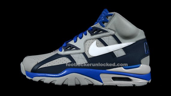 newest collection d90a6 5fe07 Nike Air Trainer SC High Color Medium GreyWhite-Obsidian-Game Royal  Style 302346-015