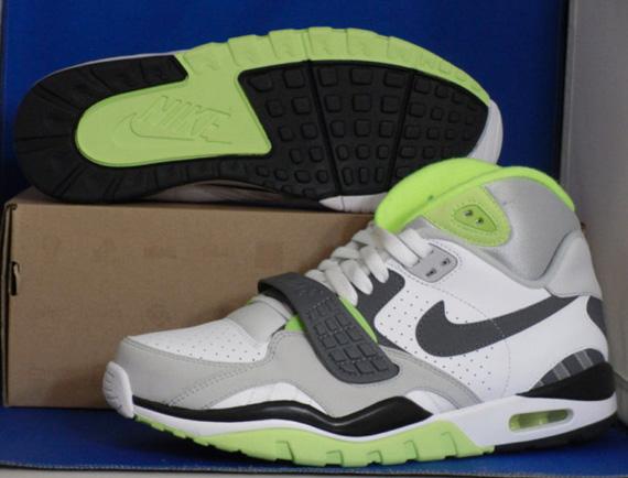 Nike Air Trainer SC II White Dark Grey-Neutral Grey- Citron Samples ... 5f2943bc3