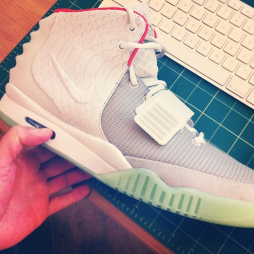 471f53e53 Nike Air Yeezy 2. Color  Wolf Grey Pure Platinum Style  508214-010. Price    250.00