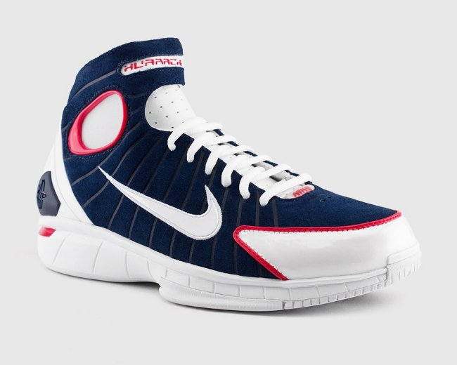nike air zoom huarache 2k4 midnight navy