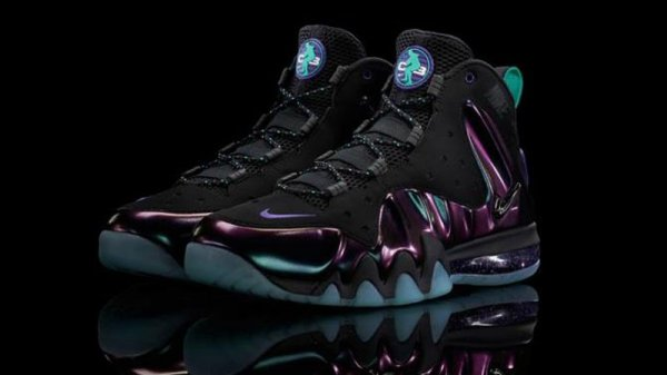 "98a918ea611 Nike Barkley Posite Max Color  Black Black (""Eggplant"") Style  555097-003.  Release  03 23 13. Price   235.00"