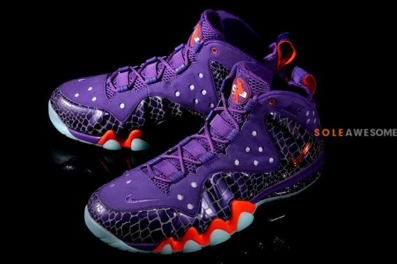 reputable site 21579 adf89 Nike Barkley Posite Max Color  Court Purple Team Orange Style  555097-581.  Release  05 18 2013. Price   235.00