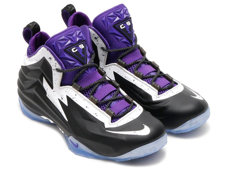 bd863590ce9 Nike Chuck Posite - Black   White-Court Purple - Air 23 - Air Jordan ...
