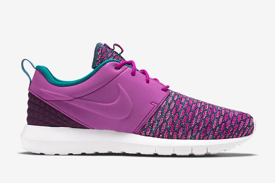 """9b8de0efaa07 Nike Flyknit Roshe Run PRM """"Grape"""" - Air 23 - Air Jordan Release ..."""