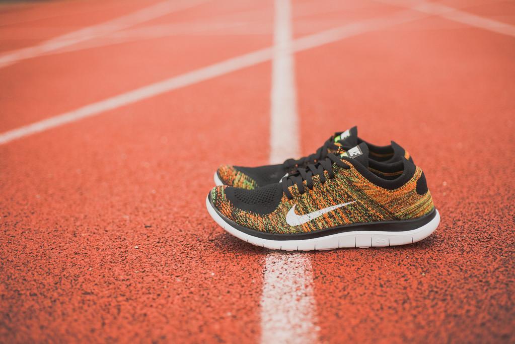 243d77e585b7f ... Nike Free 4.0 Flyknit Mens Running Shoes 14 Black White Dark Grey 631053  001 . ...