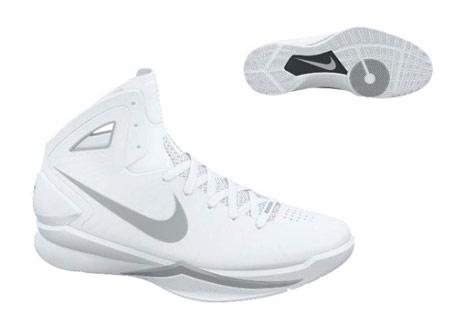 dd470079c219 Nike Hyperdunk 2010 White Silver Quickstrike - Air 23 - Air Jordan ...