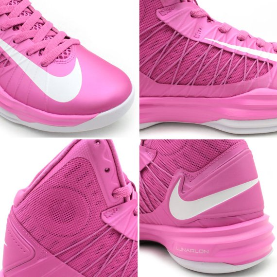 on sale da4a0 ed432 Nike Hyperdunk 2015 BCA Pink Men s Size 10 Pre-owned