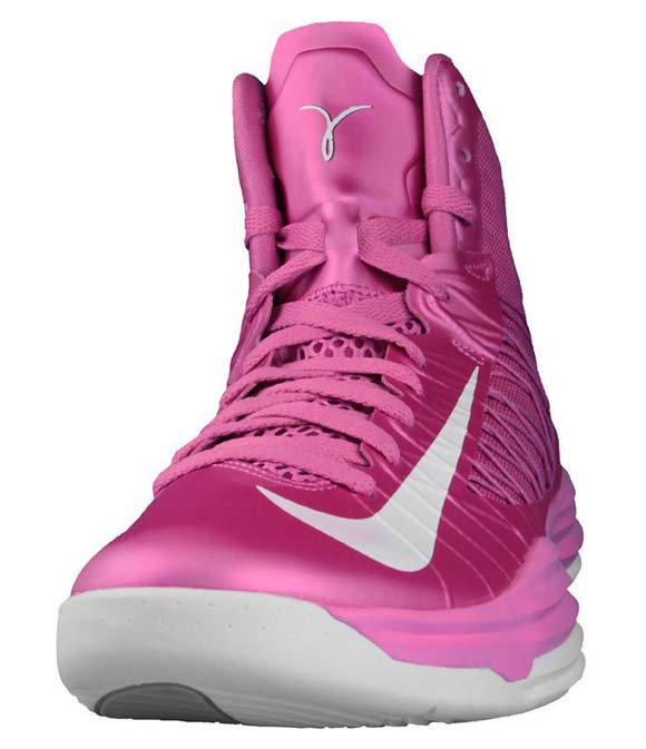 """buy online 1de28 51681 Nike Hyperdunk 2012 """"Think Pink"""" Color  Pink Fire Wolf Grey-White Style   524934-601. Price   139.00. Nike NK HYPERDUNK 2015 Pink – Mens – Size"""