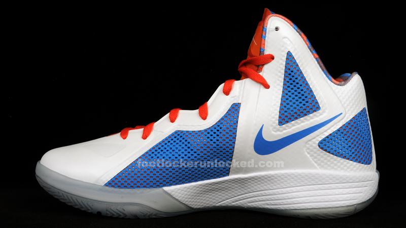 Black Nike Hyperfuse Basketball Shoes