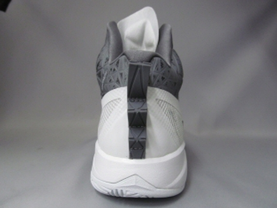 new styles 24771 364a2 Nike Hyperfuse 2013 – White  Grey - Air 23 - Air Jordan Release Dates,  Foamposite, Air Max, and More