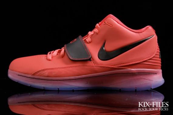 buy online 07379 fb0ac Nike KD2 Color  Daring Red Black-White Style  386423-600. Nike KD 2 II ...