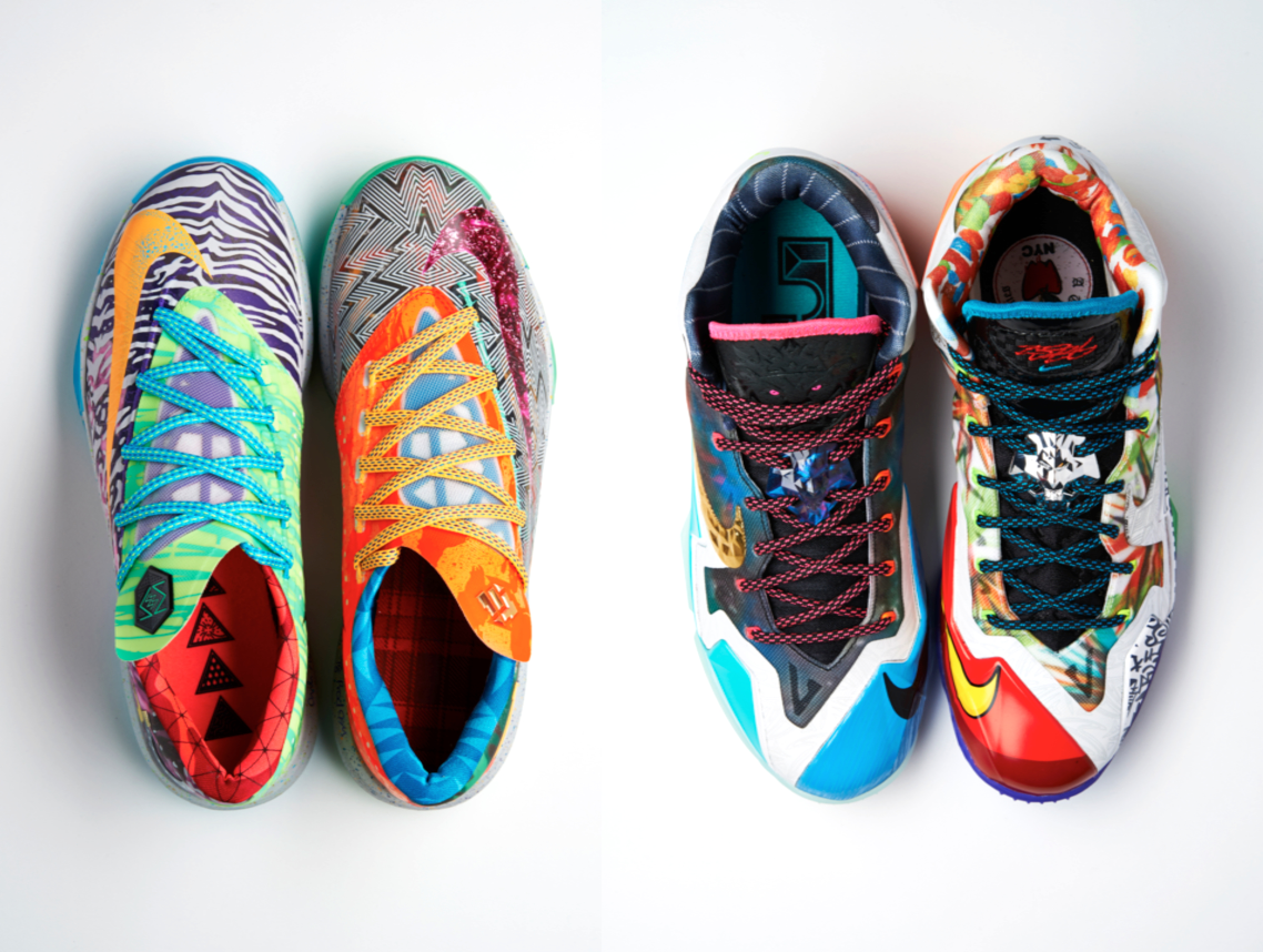 "Nike ""What The"" LeBron 11 and KD 6"