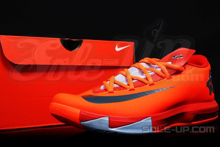 Nike KD VI (6) Style  Team Orange Armory Slate-Team Orange-Armory Blue  Style  599424-800 41dc4228af98