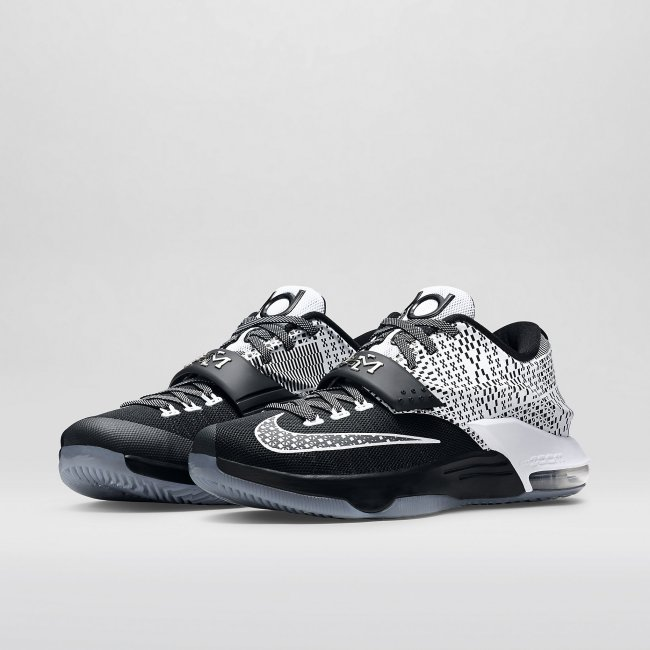 newest collection 24141 c03cd Nike KD7 BHM Color  Black Wolf Grey White Style  718817-010. Release  01 24  2015. Price   170.00