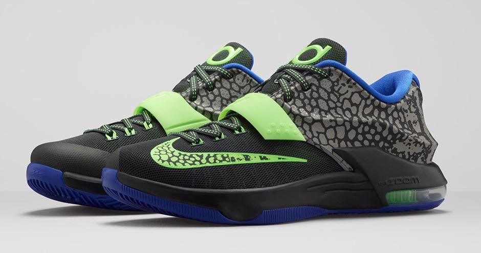 """official photos b1674 45a46 Nike KD 7 """"Electric Eel"""" Official Images, Release Date"""