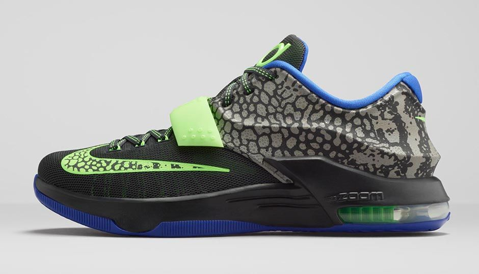 """688aa844e4ee Nike KD 7 """"Electric Eel"""" Official Images"""