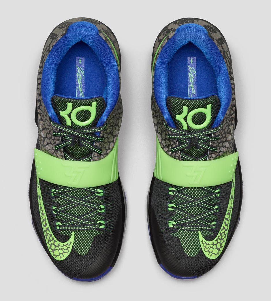 3804af716786 Nike Kevin Durant KD 7 Electric Eel size 10.5