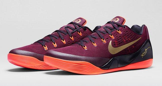 7e7d753fe00c Nike Kobe 9 (IX) Color  Deep Garnet Hyper Crimson Cave Purple Metallic Gold  Style  646701-678. Release  12 13 2014. Price   160.00