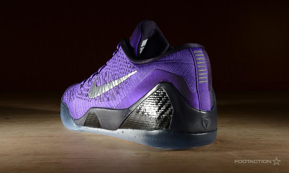 "0bf9ba86ee0a Nike Kobe IX 9 Elite Low ""Moonwalker"" Hyper Grape Michael Jackson Size 11"