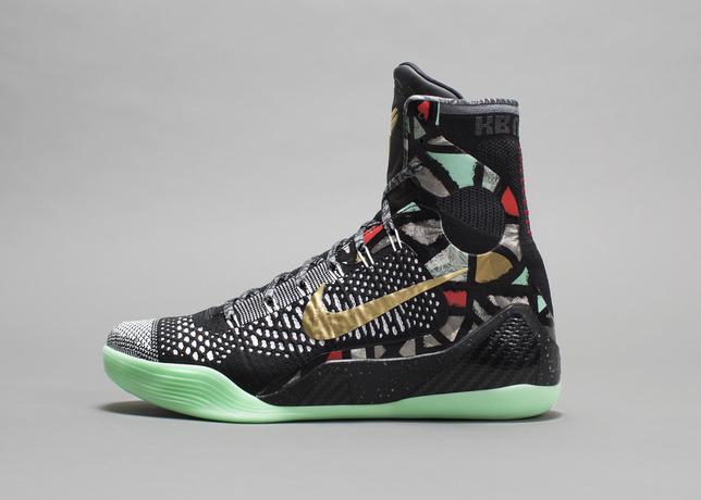 sneakers for cheap 56743 db9de Nike Kobe 9 (IX) Elite Color  Black Metallic Gold-White Style  641714-003.  Release  02 14 2014. Price   225.00