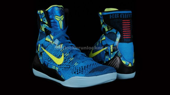 premium selection 08599 2d422 Nike Kobe 9 (IX) Elite Color  New Turquoise Volt Style  630847-400.  Release  03 08 2014. Price   225.00