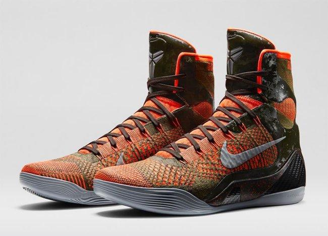 2e893074f2c Nike Kobe 9 (IX) Elite Color  Sequoia Rough Green Hyper Crimson Reflect  Silver Style  630847-303. Release  11 26 2014. Price   225.00