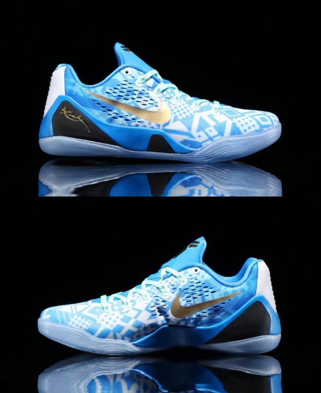 quality design 433e7 80d28 Nike Kobe IX (9) EM Color  Hyper Cobalt White-Photo Blue-Action Red Style   646701-414. Release  7 25 2014. Price   160.00