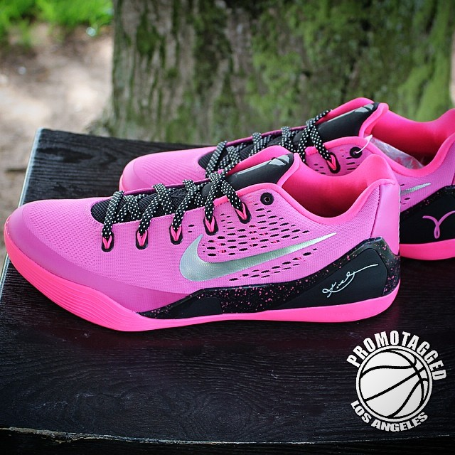 Coupon For Nike Kobe 9 Low Womens - Tag Brest Cancer