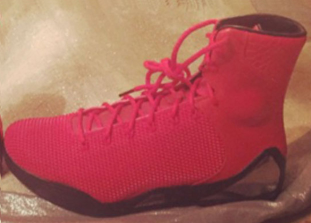 "buy popular 7a365 bb6ae Nike Kobe 9 High EXT ""Red October"" Images and Release Date"