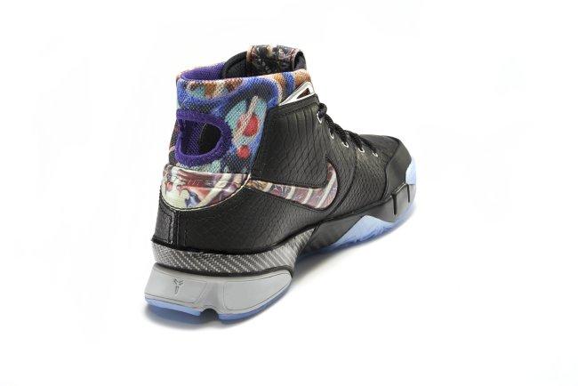 6f825a4be4c68 Nike Kobe 11 XI Elite Low Black Space Men s Size 9 FTB Prelude Bruce Lee