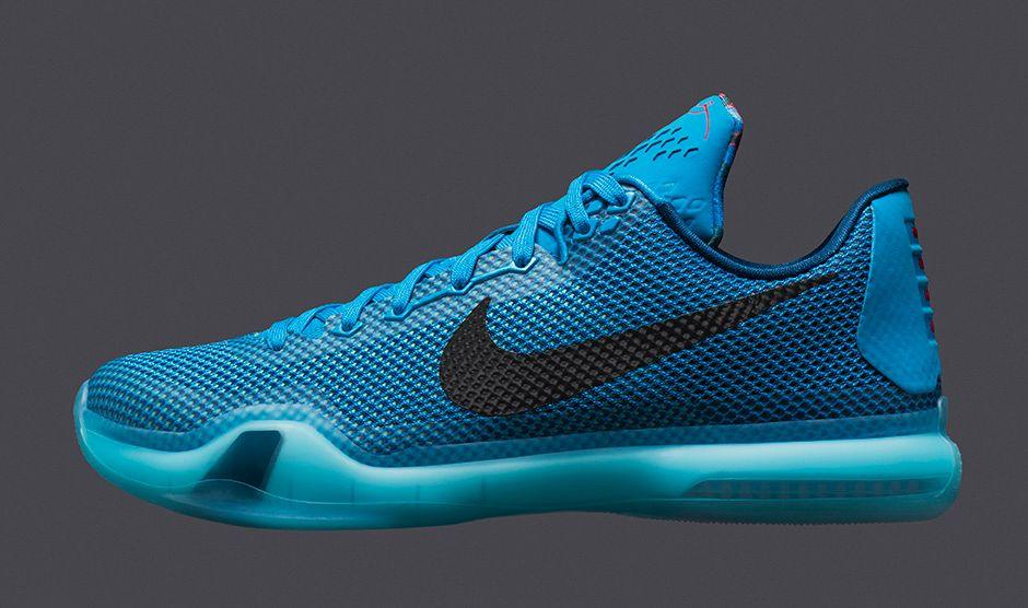 various colors 797ba a365c Nike Kobe X (10) Color  Blue Lagoon Black-Vapor Green Style  705317-403.  Release  02 07 2015. Price   180.00