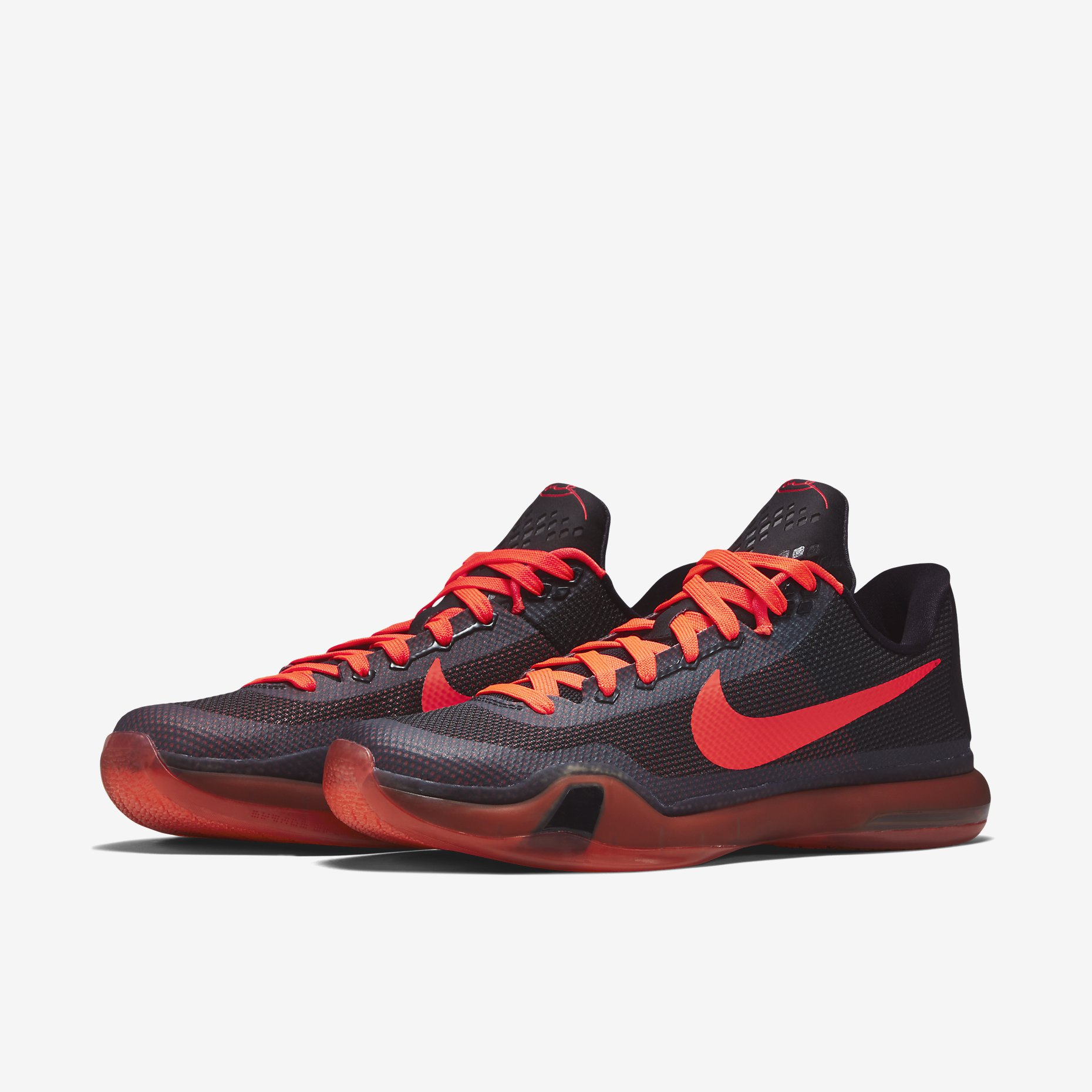 525e6e7e70e4 Nike Kobe 10(X) Color  Black Anthracite-Bright Crimson Style  705317-060.  Price   180.00