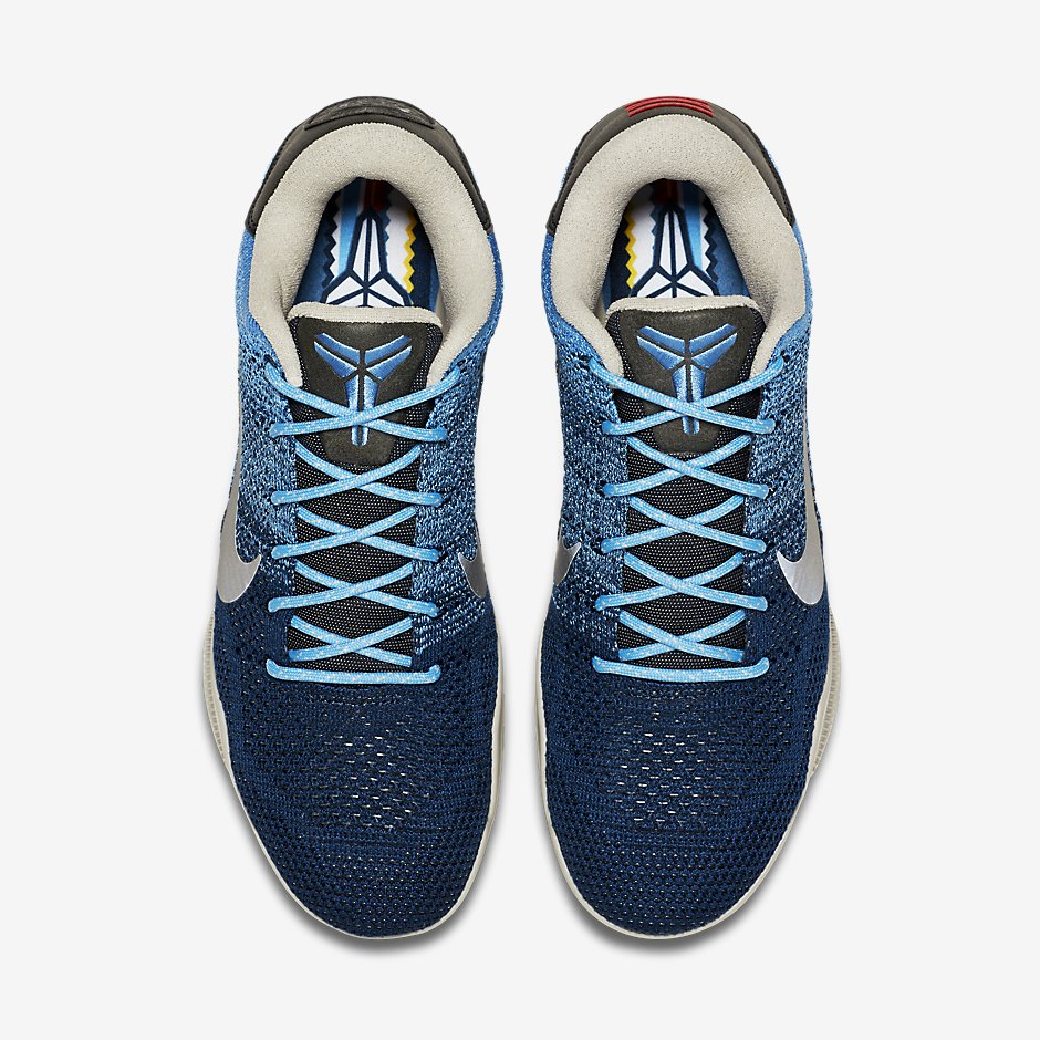 new arrivals 6bff1 7a54d Nike Kobe 11 Brave Blue - Official Images - Air 23 - Air Jordan Release  Dates, Foamposite, Air Max, and More