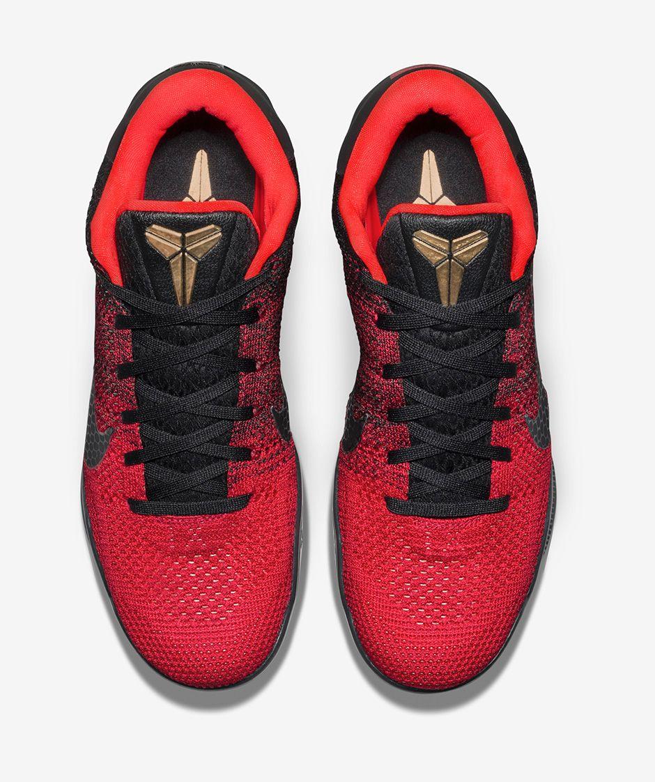 size 40 63443 5c5c4 Color  University Red Black Bright Crimson-Metallic Gold Style  822675-670.  Release Date  01 09 2016. Price   200.00. nike kobe 11 achilles heel