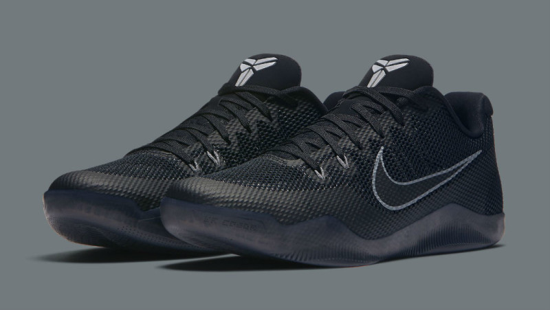 best service b4d2c 1ea4a nike kobe 11 em low triple black. Nike Kobe 11 (XI) EM Low Color  Black Cool  Grey