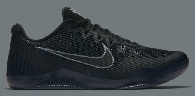 nike kobe 11 em low triple black