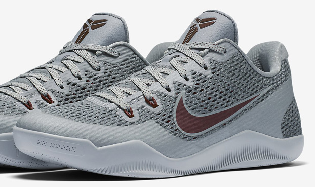 sneakers for cheap 3cafb 484ff nike kobe 11 em lower merion. Nike Kobe 11 (XI) Color  Cool Grey Team Red-Wolf  Grey