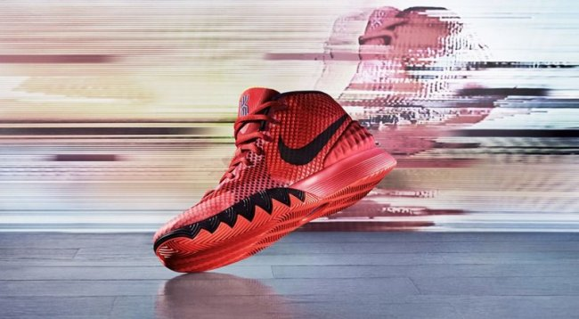 new concept 3701a 370d2 Nike Kyrie 1. Color  Bright Crimson Black-University Red-Blue Lagoon-Tour  Yellow Style  705277-606. Release  01 10 2015. Price   110.00