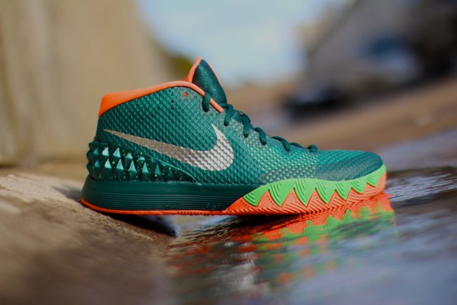 3ec0ccb424c Nike Kyrie 1. Color  Dark Emerald Metallic Silver-Emerald Green-Bright Mango-Light  Poison Green Style  705277-313. Release  02 27 2015. Price   110.00