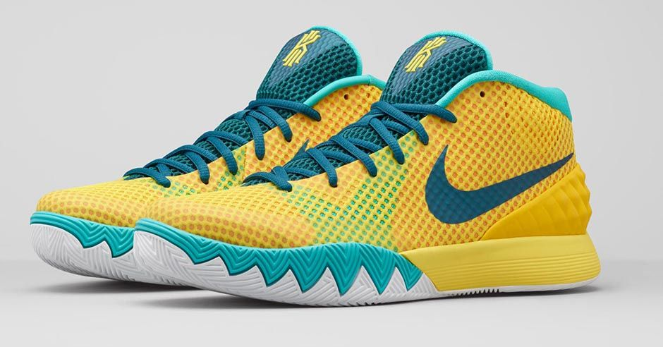 "save off 0cbd1 85da3 Nike Kyrie 1 ""Letterman"" Official Images, Release Date"