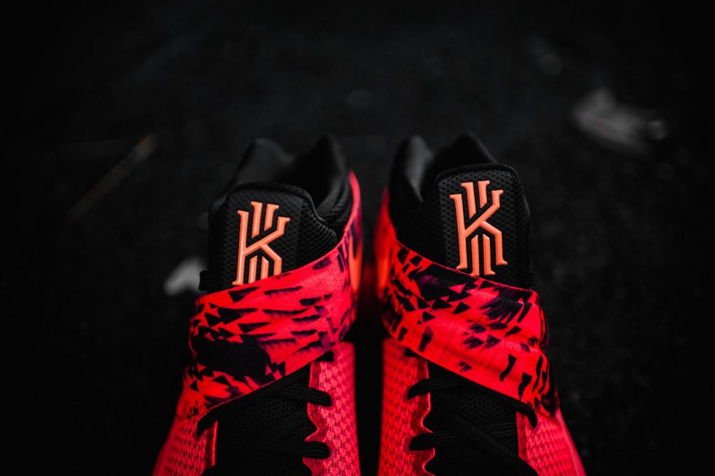 huge discount c5e6d 7e499 Nike Kyrie 2 Inferno Bright Crimson Atomic Orange-Black Red 819583-680 Size  11