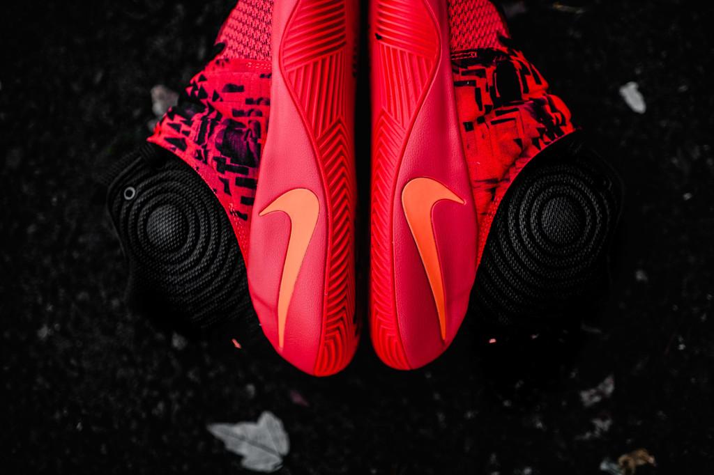 huge discount 5c8ce abe51 Nike Kyrie 2 Inferno Bright Crimson Atomic Orange-Black Red 819583-680 Size  11