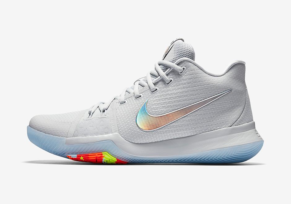 4a95bd50a2a6 Nike Kyrie 3 Iridescent Swoosh - Air 23 - Air Jordan Release Dates ...