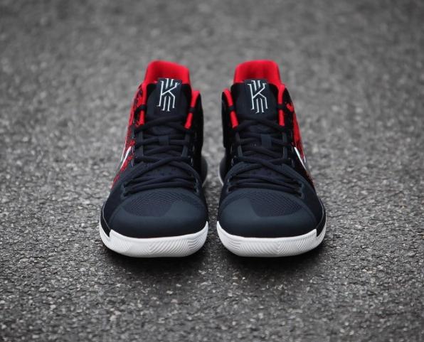 090e8028b170 Nike Kyrie Irving 3 III Samurai 852395 900 Navy Blue Red White Christmas  Mystery