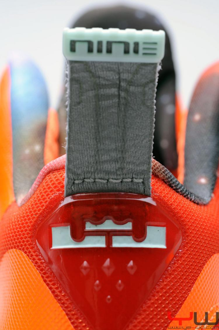 best service 6acbf a91cd Nike Air LEBRON IX 9 AS GALAXY ALL-STAR BIG BANG Size 11