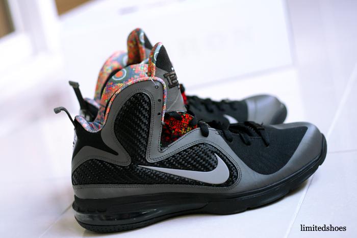 sports shoes 2528a e8897 Nike LeBron XIII 13 BHM Mens Sz 8.5 Basketball Shoes Premium PE QS Black  History