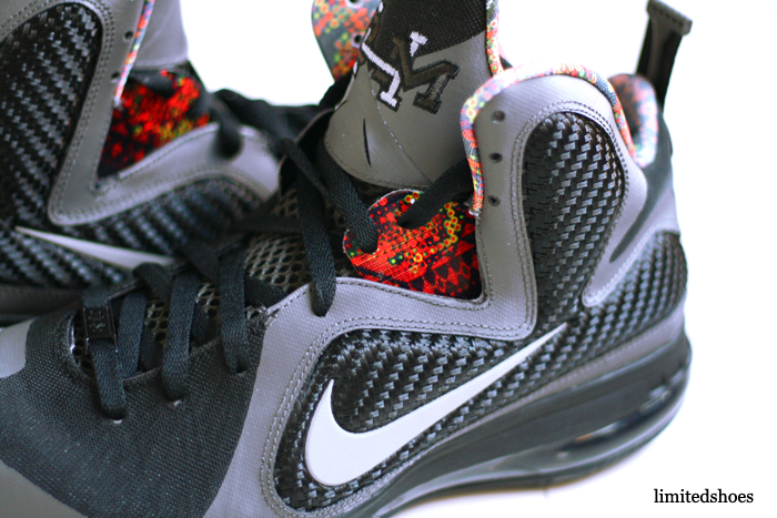 8ce352ceaeb87 Nike LeBron 9 (IX) Color  Midnight Fog Black Style  530962-001. Release   02 11 2012. Price   170.00