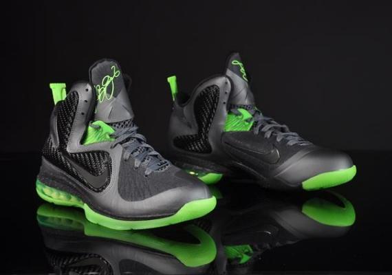 new arrivals d9f3d 222fe Nike LeBron 9 (IX) Color Dark Grey Black-Volt (Dunkman) Style  469764-006.  Release  03 01 2012. Price   170.00