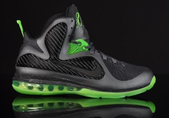"Nike LeBron 9 ""Dunkman"" Dark Grey/Black-Volt"